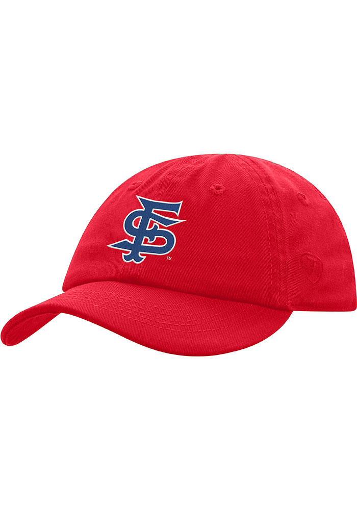 Fresno State Bulldogs Baby Mini Me Adjustable Hat - Red - Image 1