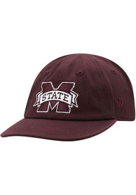 Mississippi State Bulldogs Baby Mini Me Adjustable Hat - Red