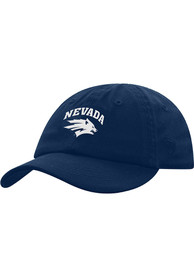Nevada Wolf Pack Baby Mini Me Adjustable Hat - Navy Blue