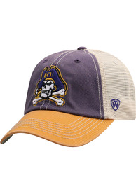 East Carolina Pirates Offroad Adjustable Hat - Purple