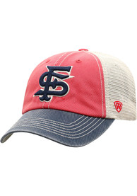 Fresno State Bulldogs Offroad Adjustable Hat - Red