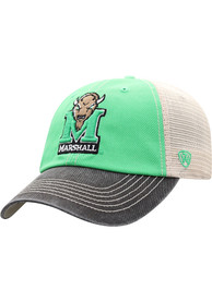 Marshall Thundering Herd Offroad Adjustable Hat - Green