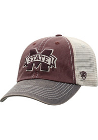 Mississippi State Bulldogs Offroad Adjustable Hat - Red