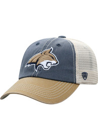 Montana State Bobcats Offroad Adjustable Hat - Navy Blue