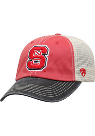 NC State Wolfpack Offroad Adjustable Hat - Red
