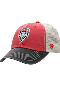 New Mexico Lobos Offroad Adjustable Hat - Red
