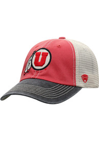 Utah Utes Offroad Adjustable Hat - Red