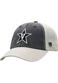 Vanderbilt Commodores Offroad Adjustable Hat - Black