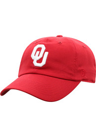Top of the World Oklahoma Sooners Staple Adjustable Hat - Red