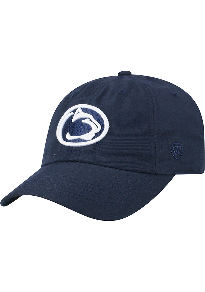 Top of the World Penn State Nittany Lions Staple Adjustable Hat - Navy Blue - Image 1