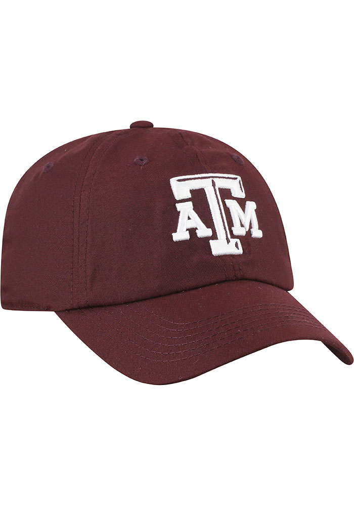 Top of the World Texas A&M Aggies Staple Adjustable Hat - Red - Image 2