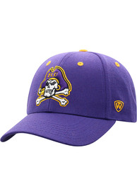 East Carolina Pirates Triple Threat Adjustable Hat - Purple