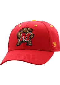 Maryland Terrapins Triple Threat Adjustable Hat - Red