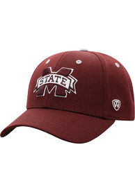 Mississippi State Bulldogs Triple Threat Adjustable Hat - Red