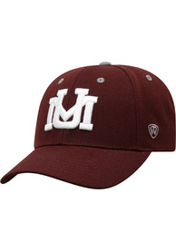 Montana Grizzlies Triple Threat Adjustable Hat - Red