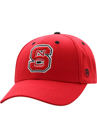 NC State Wolfpack Triple Threat Adjustable Hat - Red