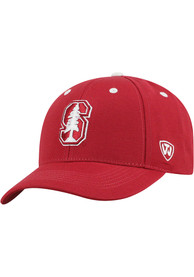 Stanford Cardinal Triple Threat Adjustable Hat - Red
