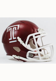 Temple Owls Cherry Speed Mini Helmet