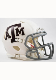 Texas A&M Aggies White Speed Mini Helmet