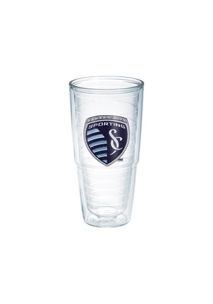 Sporting Kansas City 24oz clear Tumbler - Image 1