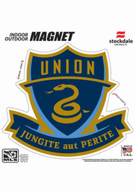 Philadelphia Union 12x12 Logo Car Magnet - Navy Blue