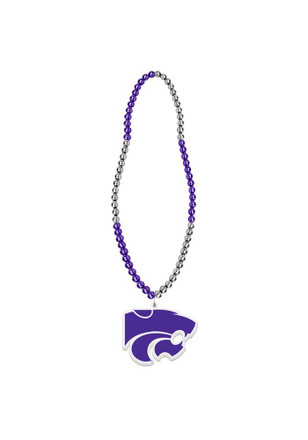 K-State Wildcats BEADS Spirit Necklace