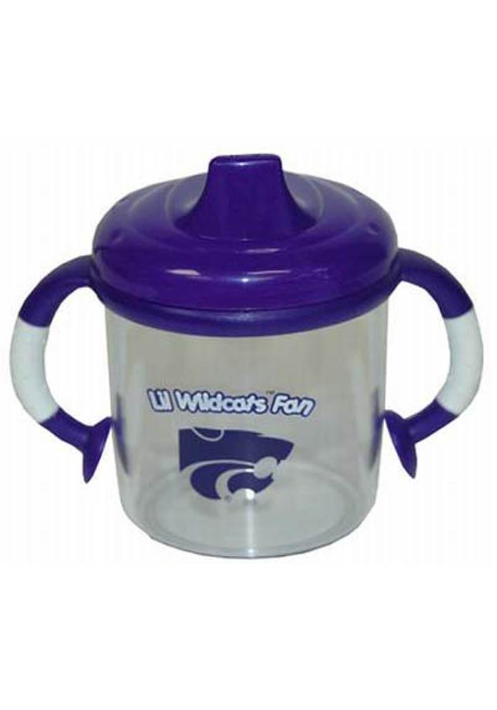 K-State Wildcats No Spill Baby Bottle - Image 1