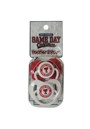 Texas Tech Red Raiders 2 Pack Pacifier