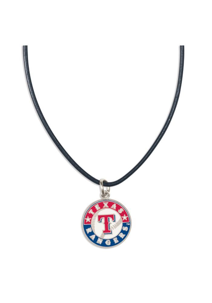 Texas Rangers Leather Necklace - Image 1