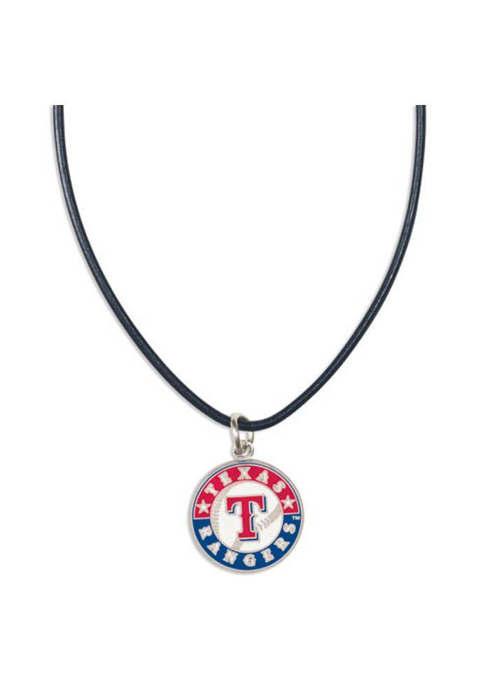 Texas Rangers Leather Necklace - Image 2