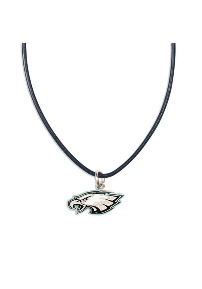 Philadelphia Eagles Leather Necklace - Image 1
