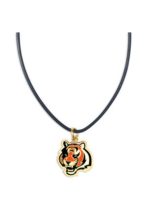 Cincinnati Bengals Leather Necklace