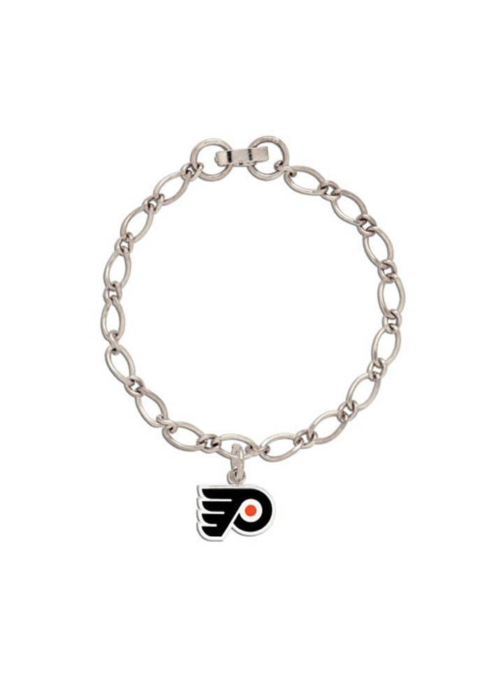 flyers bracelet philadelphia flyers one charm womens bracelet 5719053 6964