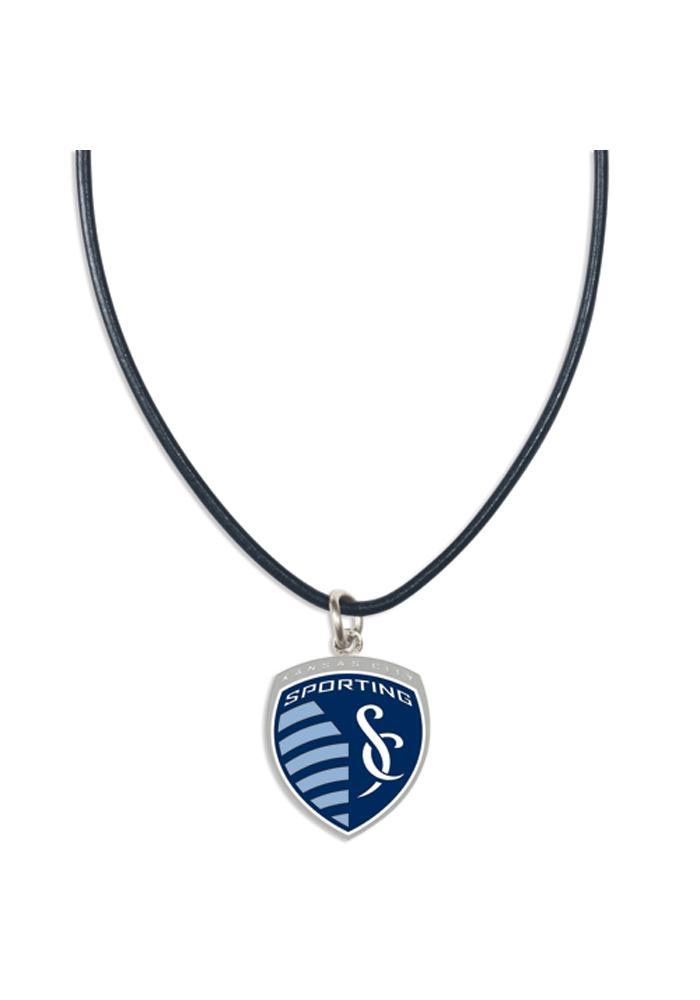 Sporting Kansas City Leather Womens Necklace - Image 1