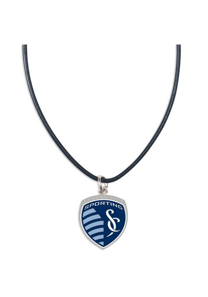 Sporting Kansas City Leather Womens Necklace - Image 2
