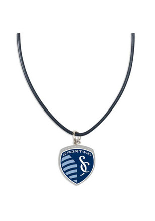 Sporting Kansas City Leather Necklace