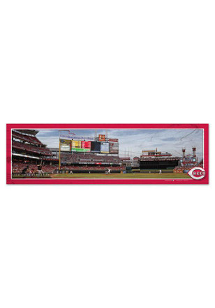 Cincinnati Reds 9X30 Wood Sign
