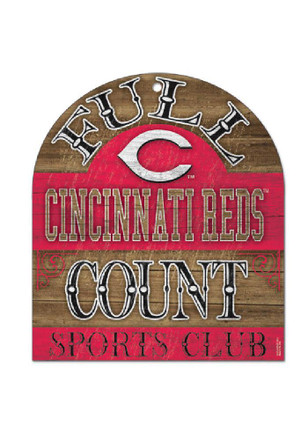 Cincinnati Reds 11X17 Clubhouse Wood Sign