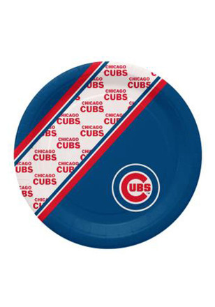 Chicago Cubs 10 Inch 20 Pack Paper Plates