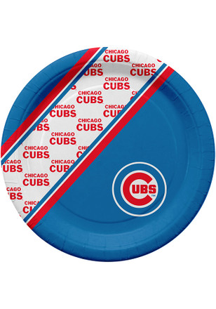 Chicago Cubs 20 PK Paper Plates
