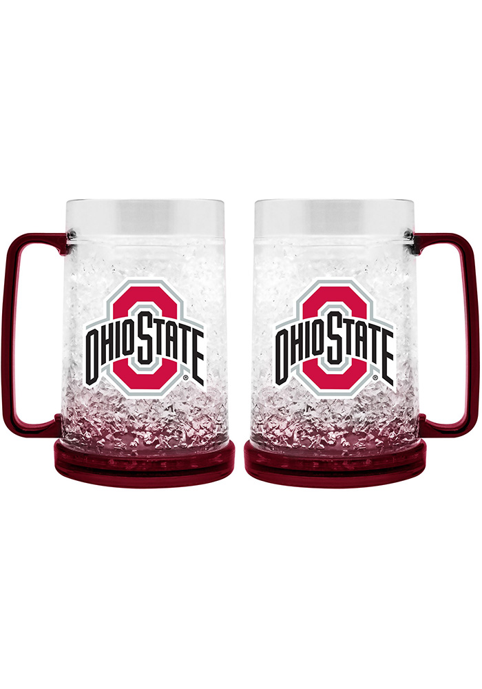 Ohio State Buckeyes 16oz Freezer Mug, Red, PLASTIC
