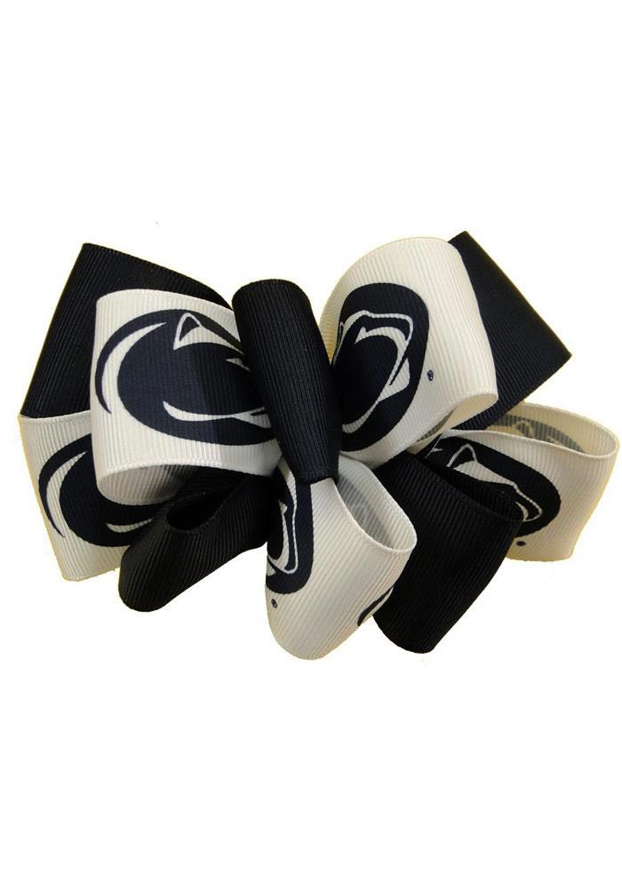 Penn State Nittany Lions Mary Loop Kids Hair Barrette - Image 1