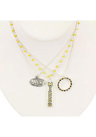 Missouri Tigers Trio Necklace