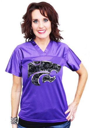 Gameday Couture K-State Wildcats Womens Purple Fashion Replica Football Jersey