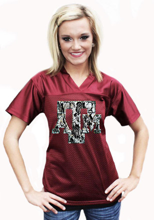 Gameday Couture Texas A&M Aggies Womens Maroon Fashion Replica Football Jersey