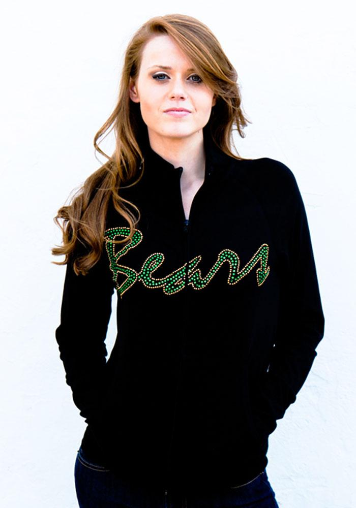Gameday Couture Baylor Bears Juniors Black Cadet Long Sleeve Track Jacket - Image 1