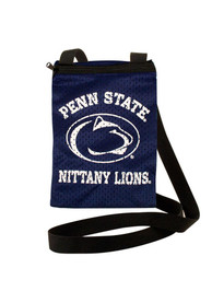 Penn State Nittany Lions Womens Gameday Pouch Purse - Navy Blue