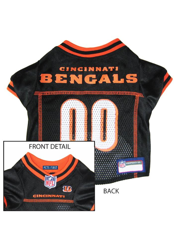 Cincinnati Bengals Football Pet Jersey - Image 1