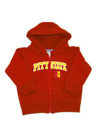 Pitt State Gorillas Baby Arch Full Zip Sweatshirt - Red