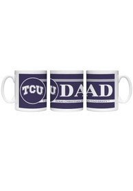 TCU Horned Frogs Dad Ceramic Mug